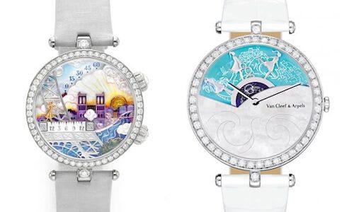 おとぎ話の世界のよう!Van Cleef&Aepelsの腕時計