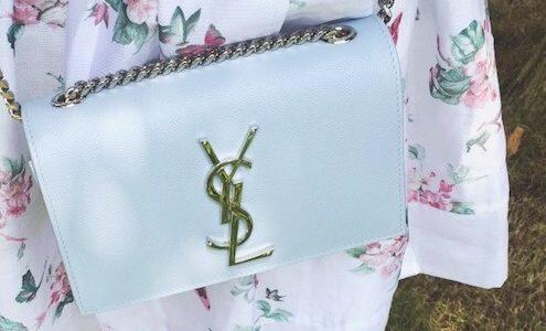 初めての高級ブランドバッグにおすすめ!サンローランのクラシックケイトモノグラムサッチェル
